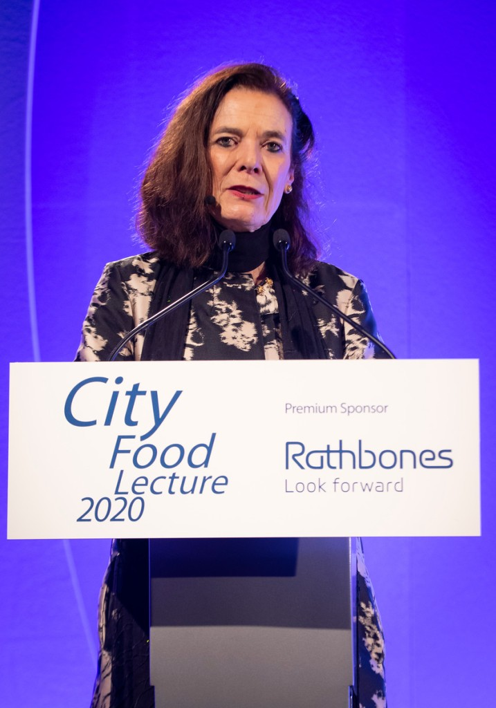 Louise Fresco City Food Lecture 2020